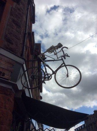 Callander, UK: Front of shop