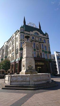 Terazije Fountain Na Slici Je Terazijska Cesma Beograd