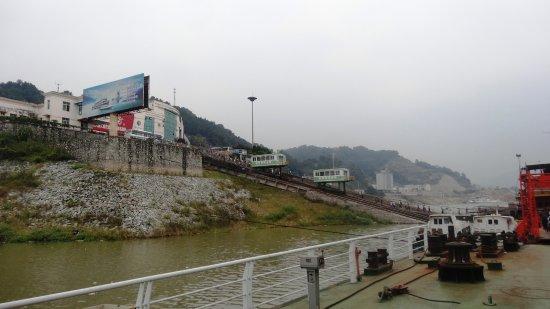 Yichang, Kina: disembark