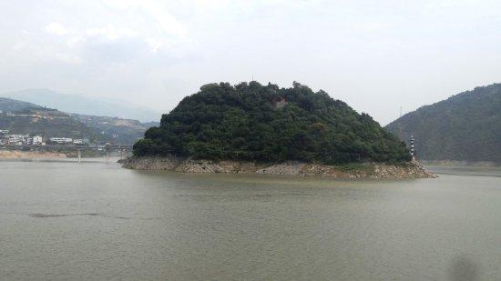 Yichang, Kina: Three Gorges Yangtze