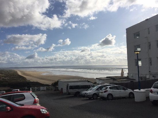 Saunton Sands Hotel: view from the car park!