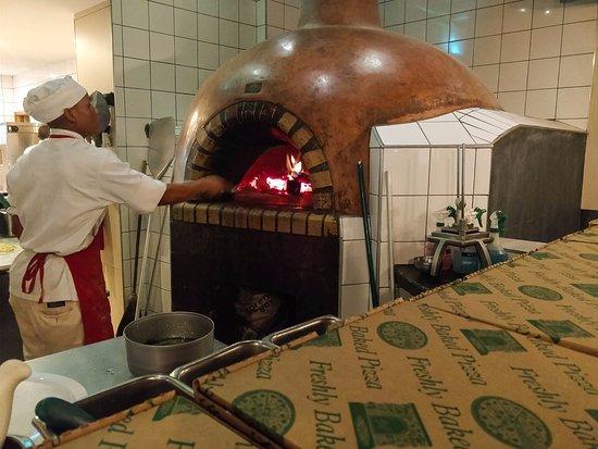 Rivonia, Sydafrika: Pizza oven