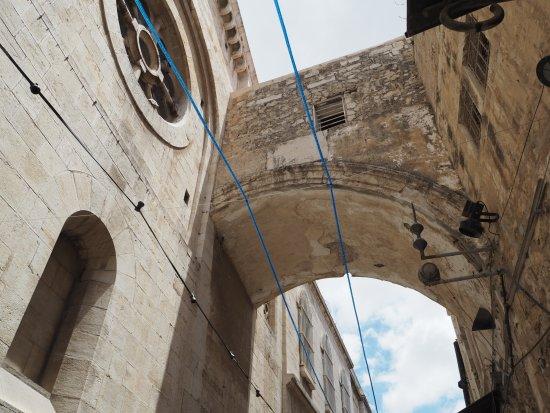 Via Dolorosa (Voie Douloureuse) : エッケ・ホモ教会 AD135頃の建物