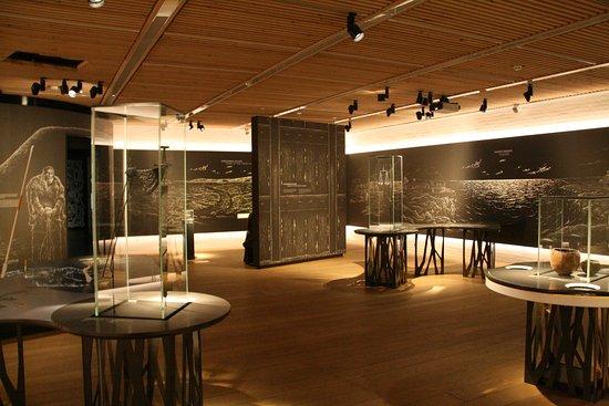 Jelling, Danmark: Museum interior