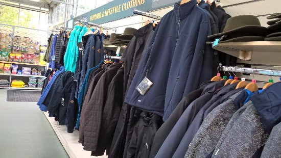 The Tree Shop Cafe: Jackets and fleeces