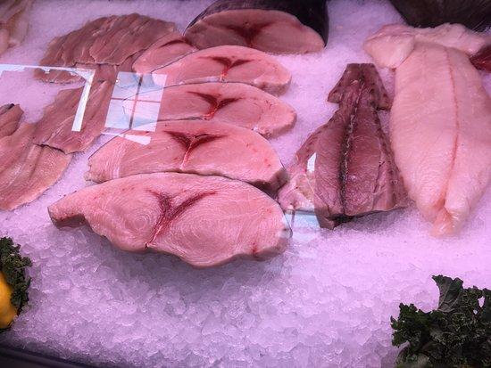 Hull, MA: Huge Swordfish Steaks