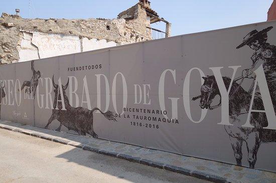 Fuendetodos, Spain: Grabado de Goya