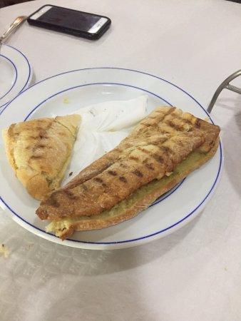 Restaurante Banhos Ferreos: Pão de alho