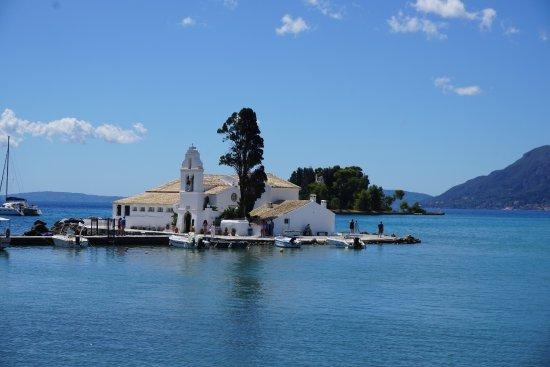 Corfu Holiday Palace: Corfu Holiday Place Hotel July 2017 Corfu Greece - Close to this Monastry