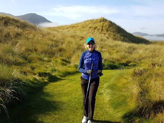 Ballyliffin Golf Club: A beautiful Sunny Day at The Old Links Course