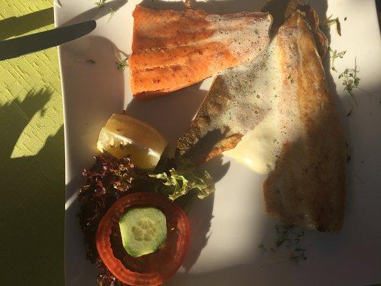 Millstatt, النمسا: Fishplatter