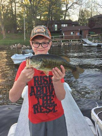 Deerwood, MN: A nice Bay Lake bass