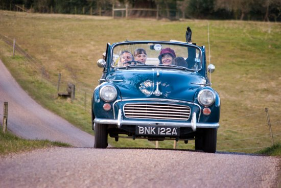 Bradford, UK : Morris Minor Hire for great days out or weddings