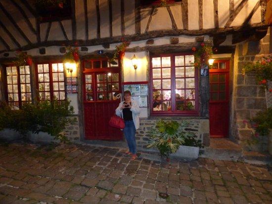 Dol-de-Bretagne, Frankrike: coup de cœur pour ce très bon restaurant