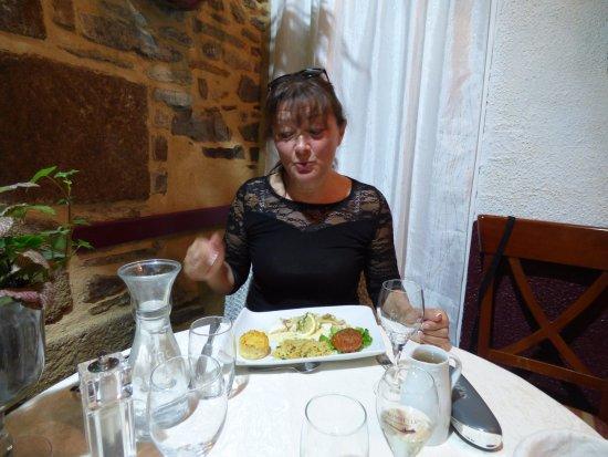 Dol-de-Bretagne, Frankrike: ma tite femme a adoré