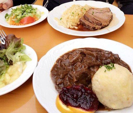 Lindner Bräu Speisekarte