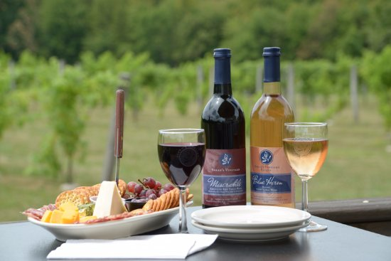 Cuyahoga Falls, OH: Photo by Thom Sivo.  Featuring our deluxe cheese tray with two of our most popular wines