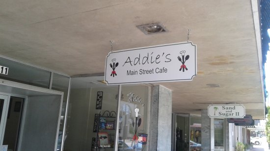 Tarboro, NC: Addie's Sign 411 Main St.