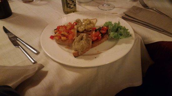 Скандциччи, Италия: crostini vegetariani