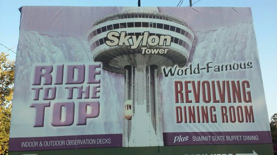 Skylon Tower From The Parking Lot