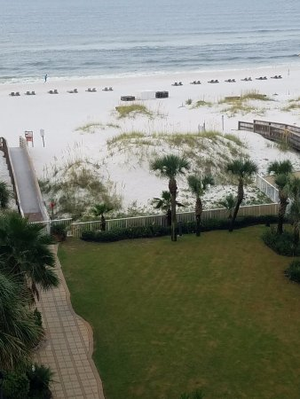 Hilton Garden Inn Orange Beach: Gorgeous Gulf view