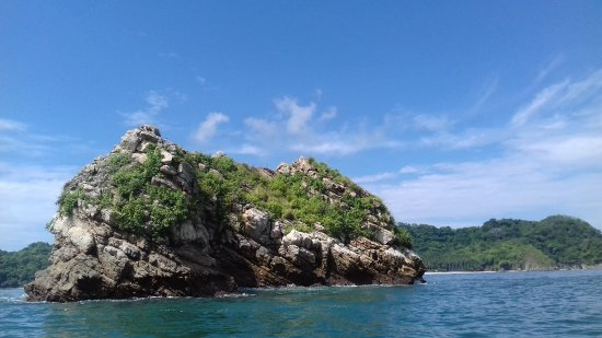 Nicoya, Kosta Rika: Camino a Isla Tortuga.