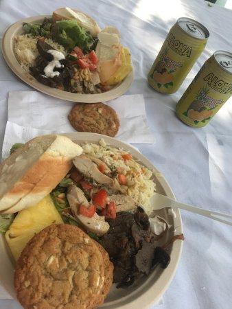 Eleele, Hawái: Awesome lunch!!
