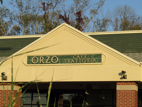 Orzo: front of Restaurant