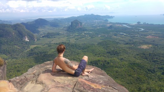 Nong Thale, Tailandia: Relaxing at summit