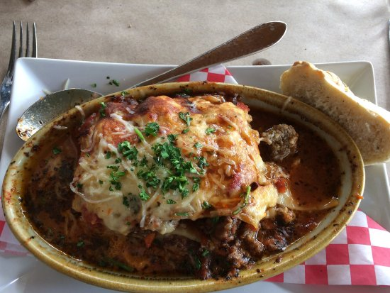 Brevard, Северная Каролина: Yummy lasagne