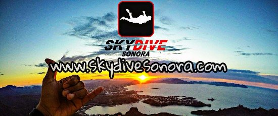 San Carlos, Mexico: The best view for skydiving!