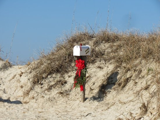 Sunset Beach, Kuzey Carolina: Kindred mailbox