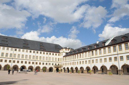 Gotha, Jerman: Binnenplaats
