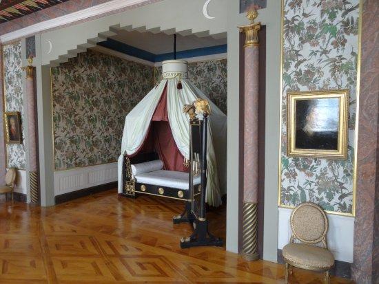 Gotha, Jerman: een slaapkamer