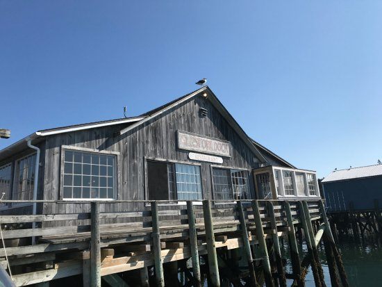Islesford, ME: View as one walks up to the dock from the Sea Princess
