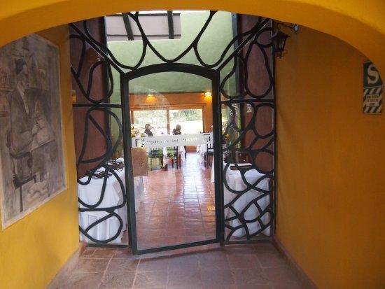 San Agustin Monasterio de la Recoleta Hotel : Entrée restaurant