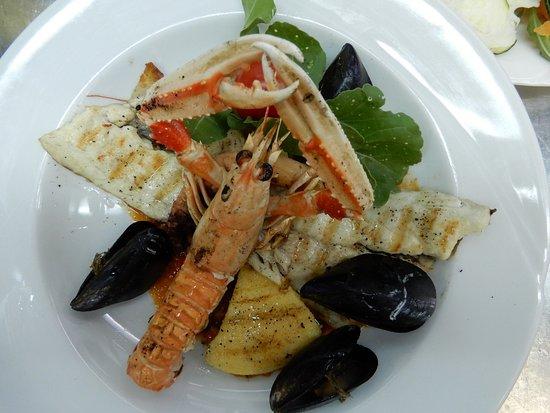 Restaurant Villa Mediterana: Seafood medly