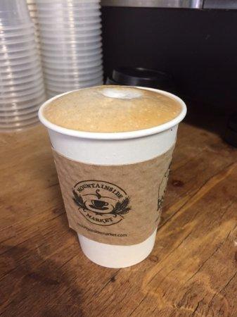Princeton, MA: Latte!