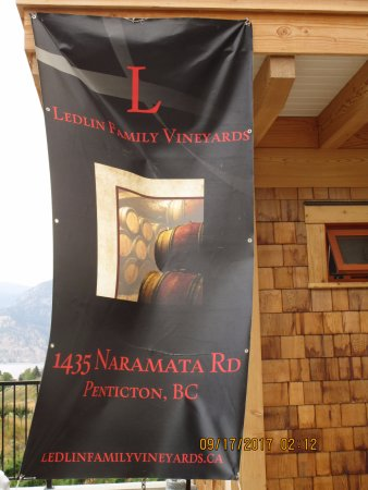 Penticton, Canada: Ledlin Family Vineyards