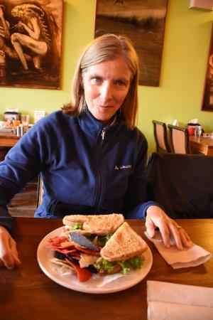 Ladysmith, Canadá: Excellent clubhouse sandwich