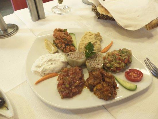 Amedros: Entrée turques ... un délice