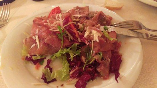 Il Cassero: Carpaccio beef