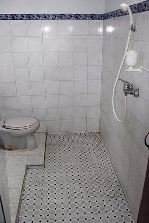 Swan Inn: Salle de bain de la chambre 1