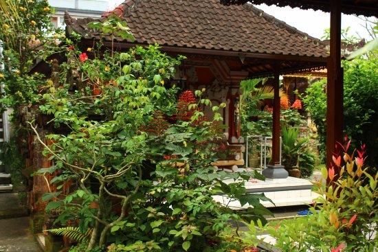 Swan Inn: jardin de l'hotel