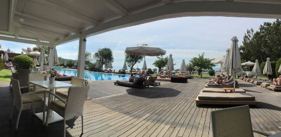 Agia Paraskevi, Hellas: Strand Pool Zimmer262 Pool