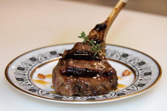 Hahira, GA: Balsamic Glazed Lamb Lollipop