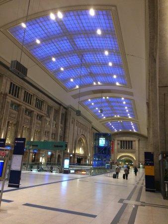 Hauptbahnhof Leipzig: Bahnhofhalle