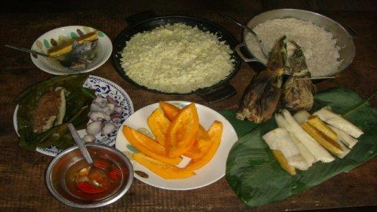 Tena, Ekwador: Es el alimento típica de la zona