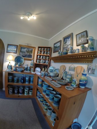 Clayton, NY: Gorgeous pottery, paintings, jewelry made on-site!