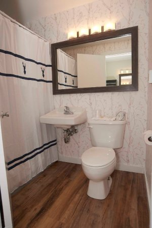 Pittsfield, VT: Renovated Guest Room Bathrooms